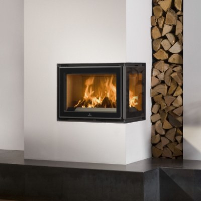 Barbas Unilux-3 200 Inset 8Kw Wood Burner