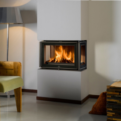 Barbas Unilux-3 300 Inset 8Kw Wood Burner