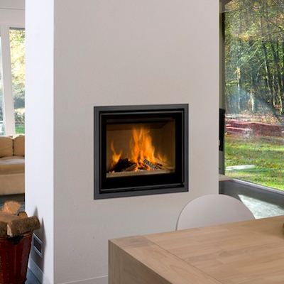 Cuatro-3 70 11Kw Wood Burning Inset