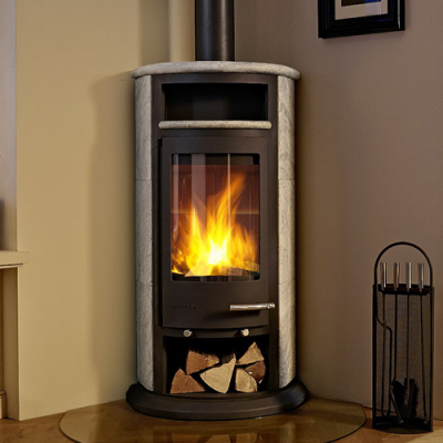 Malgrade 2 10Kw Wood Burning Corner Stove