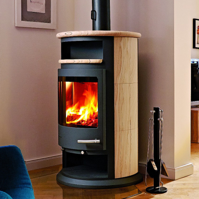 Varese 2W 6Kw Wood Burning Boiler Stove