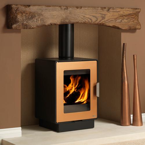 Logfire LF4 4Kw Wood Burner