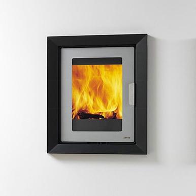 LogFire LF4 Inset 4Kw Wood Burner