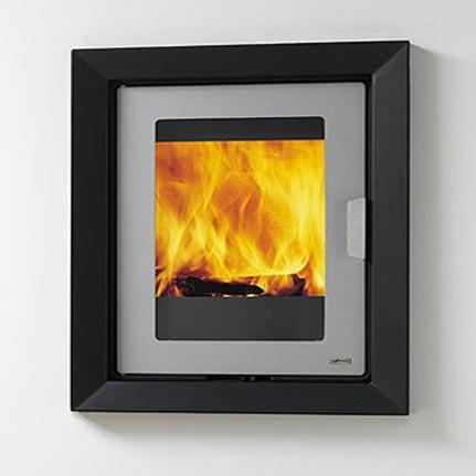 LF10 10Kw Wood Burning Inset