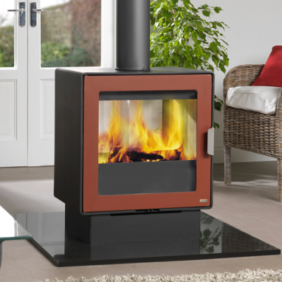 LF10 Double Sided 10Kw Wood Burner