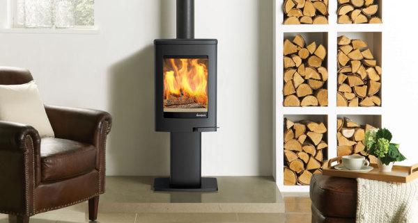 Uno 1 4Kw Wood Burner
