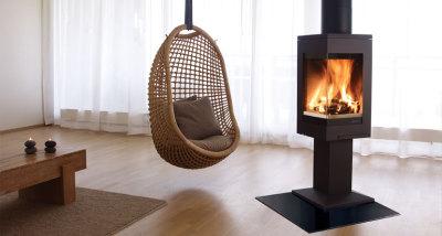 Quadro 1 6.2Kw Wood Burner
