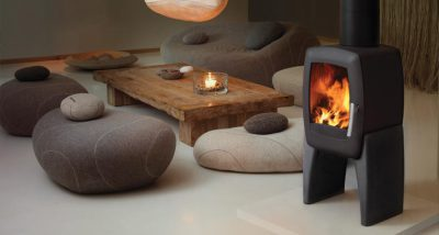 Nordpeis Smarty Concrete 5Kw Wood Burner