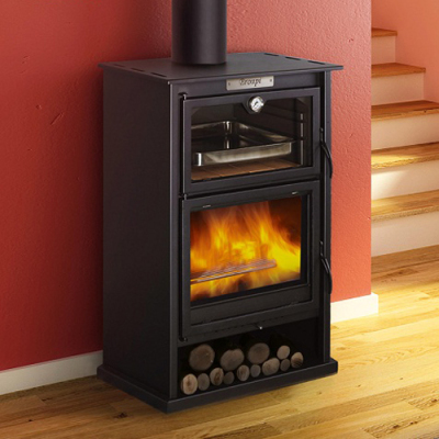 Suiza 9Kw Cooking Wood Burner