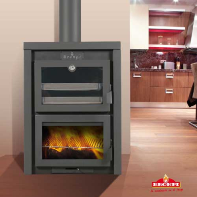 Sagra 13Kw Cooking Wood Burner
