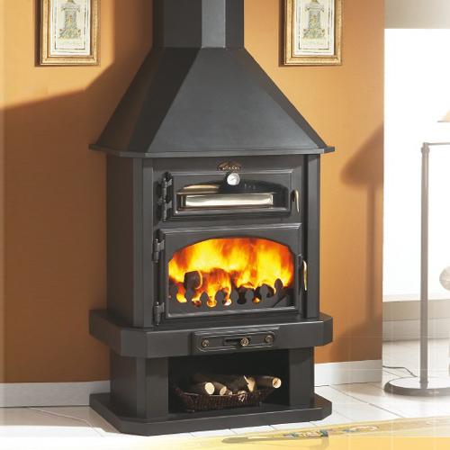 Ebro 12Kw Cooking Wood Burner