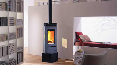 Austroflamm Glass 6Kw Wood Burner