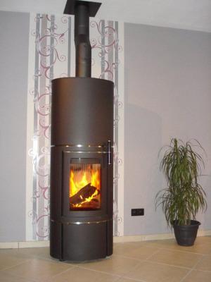 Cera-Design Divino 3 8Kw Wood Burner