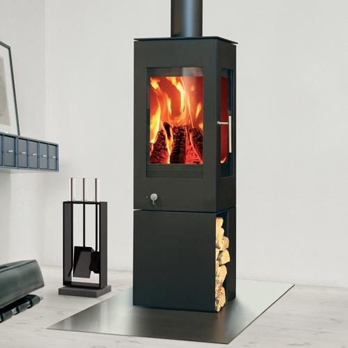 Rais Q-Bic 127 6Kw Wood Burner