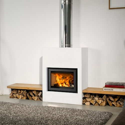 Universal-6 60 9Kw Wood Burning Inset