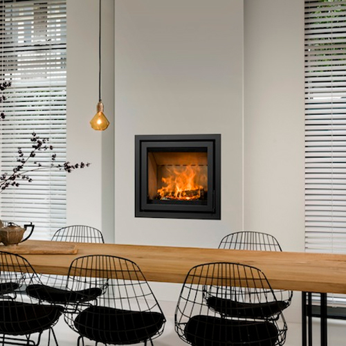 Unilux-6 67 10Kw Wood Burning Inset
