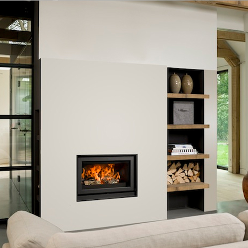 Unilux-6 75 13Kw Wood Burning Inset