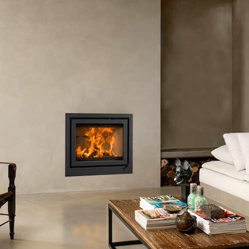 Universal-6 65 7Kw Wood Burning Inset