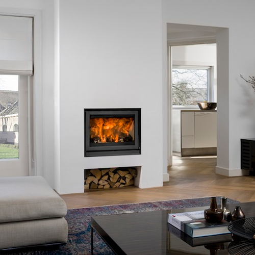 Universal-6 70 9Kw Wood Burning Inset