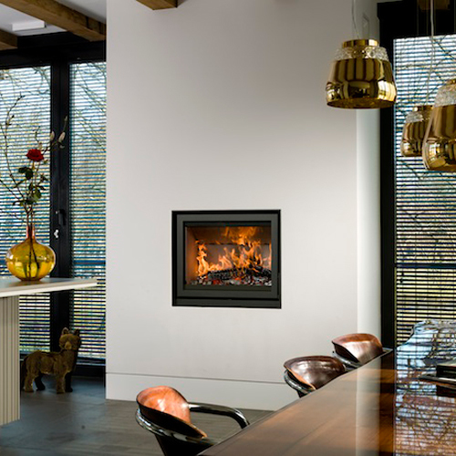 Unilux-6 80 11Kw Wood Burning Inset