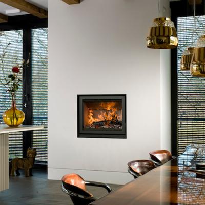 Unilux-6 80 11Kw Wood Burning Inset