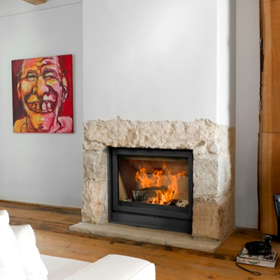 Universal-6 85 11Kw Wood Burning Inset