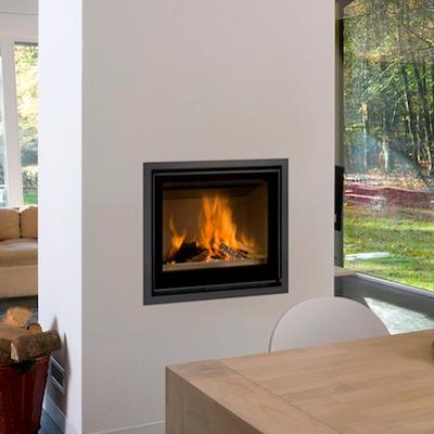 Cuatro-3 70 11Kw Wood Burning Inset