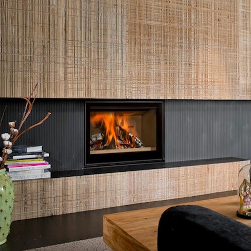 Cuatro-3 80 15Kw Wood Burning Inset