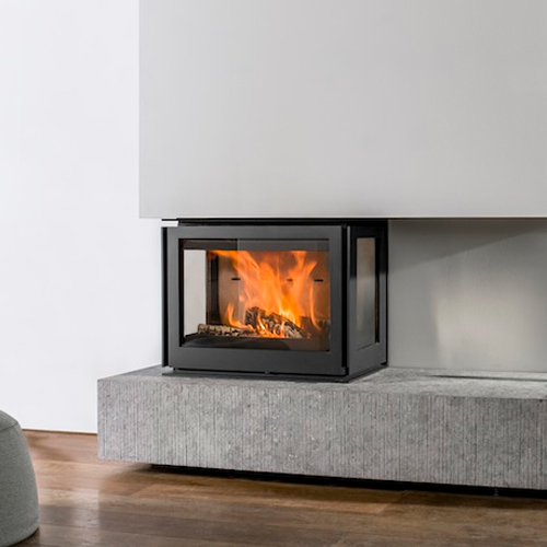 Unilux-6 270 12Kw Three Sided Wood Burning Inset