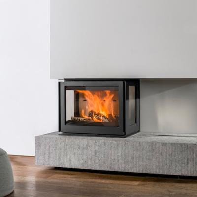 Unilux-6 270 12Kw Three Sided Wood Burning Inset