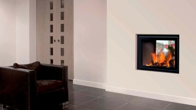Energa 70/55 Tunnel 25Kw Built-In Double Sided Wood Burner