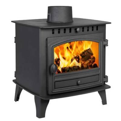 Herald 6 Double Sided 6.5Kw Wood Burner