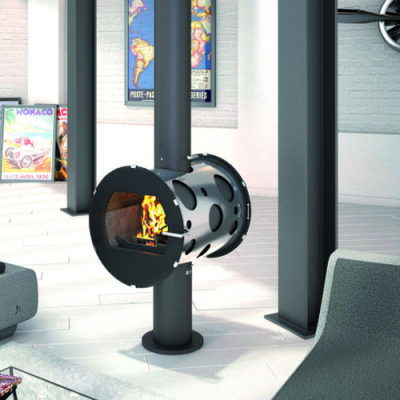 Integral Double Sided 11.2Kw Wood Burner