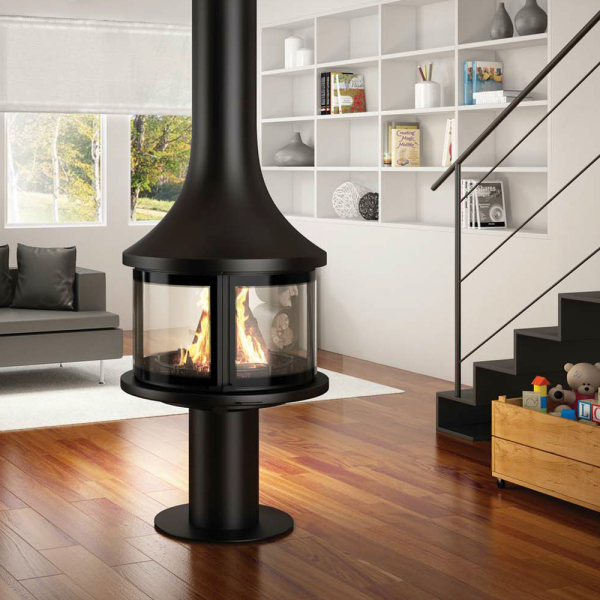 Lea 998 Central 9.8Kw Wood Burner