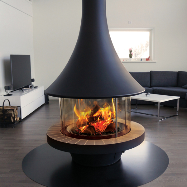 Eva 992 Central 13.5Kw Wood Burner