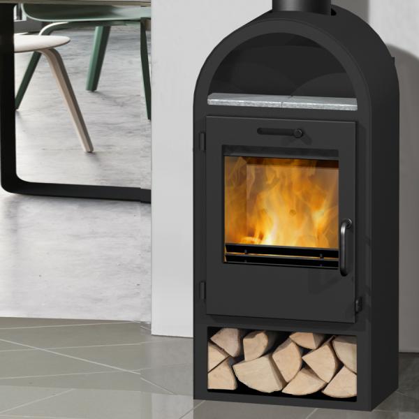 Danburn Laeso 6Kw Wood Burner
