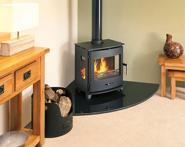 Newbourne 50FS Panorama 5.5Kw Multi Fuel