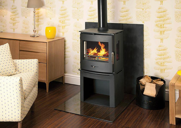 Newbourne 50LS Panorama 5.5Kw Multi Fuel
