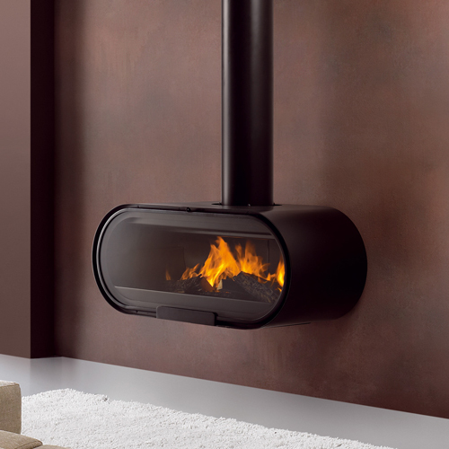 Rocal D8 20Kw Wall Mounted Wood Burner