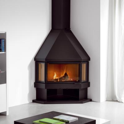 Estela 20Kw Wood Burning Corner stove