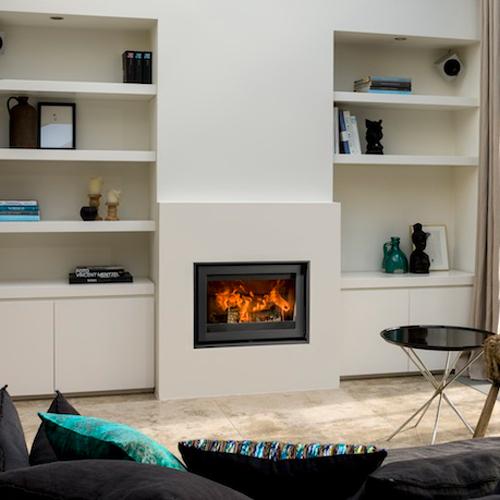 Barbas Unilux-6 65 9Kw Wood Burning Inset