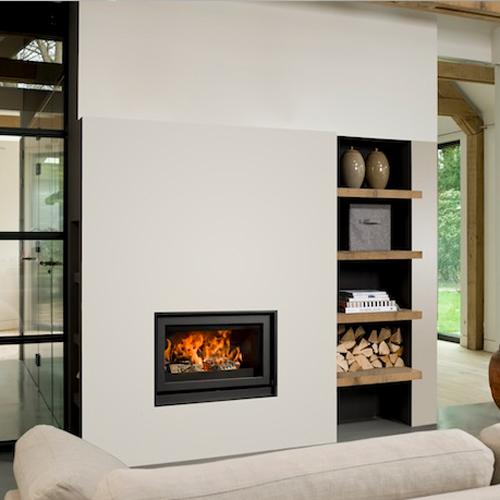 Barbas Unilux-6 75 13Kw Wood Burning Inset