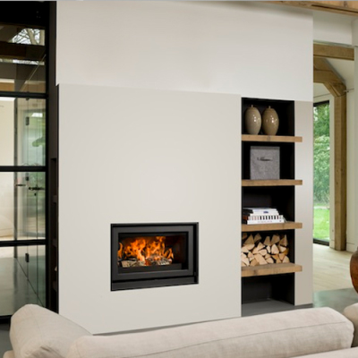 Barbas Unilux-6 75 13Kw Wood Burning Inset