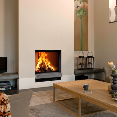 Barbas Evo 80/65 14Kw Built-In Wood Burner