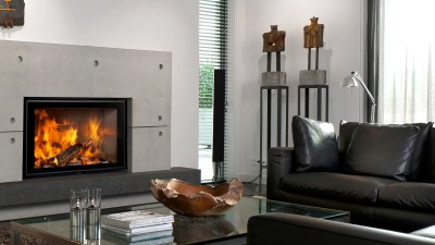 Barbas Energa 80/50 20Kw Built-In Wood Burner