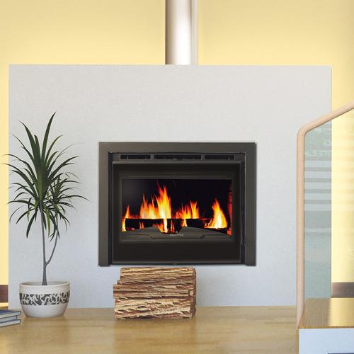 Bronpi Canada Vision 13Kw Wood Burning Inset