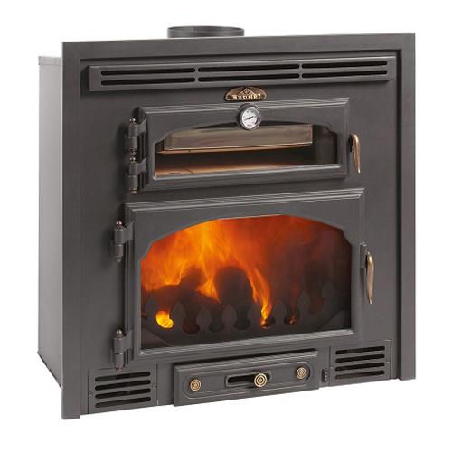 Bronpi Everest 13Kw Wood Burning Inset with Oven
