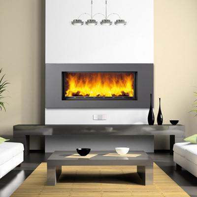 Bronpi Volga 130x40 18Kw Built in Wood Burner