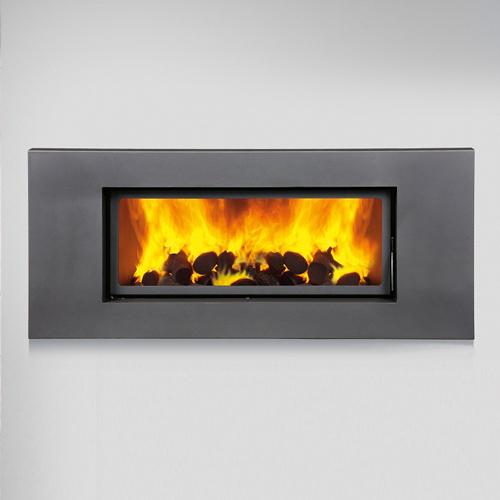 Bronpi Londres-V 19Kw Wood Burning Inset