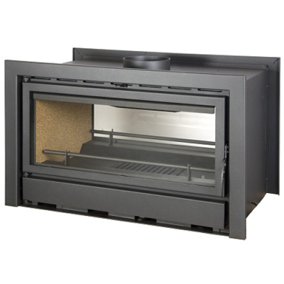 Bronpi Kenia 90D 19Kw Double Sided Wood Burning Inset